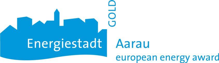 Logo Energiestadt Gold